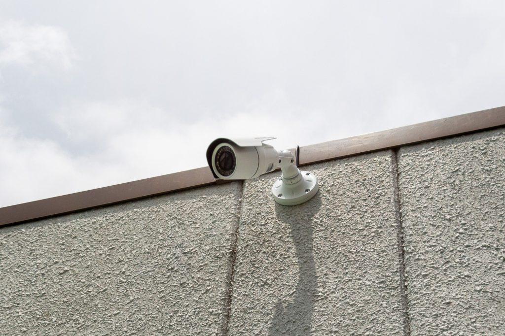 赤塚フレンズシェアハウス バルコニー側にも防犯カメラ設置
