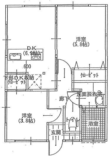 ハナブキ1階平面図